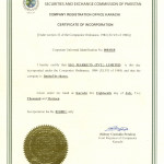 Incarporation Certifacate